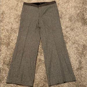 Banana Republic wool blend flannel tweed pants